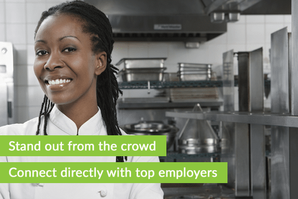 Connect directly with chef employers