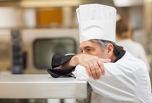 Stressed Chef